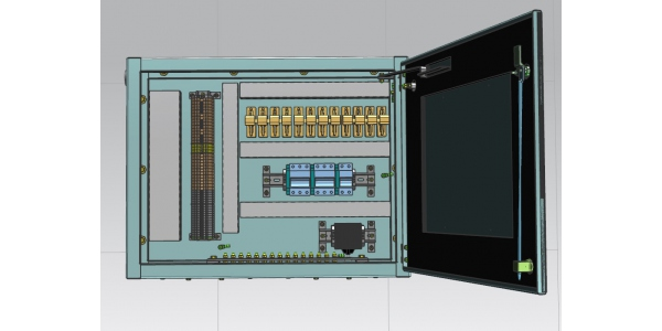 The cabinet of secondary connections is designed to connect and distribute secondary circuits of voltage transformers ЗНГ-UETMÒ-110, 220